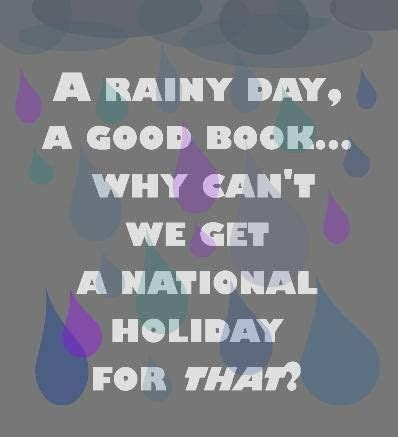 Essay a rainy day quotations